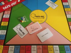 Pass out drinking game for Sale in Glendale, AZ