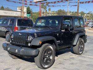 2016 Jeep Wrangler Sport for Sale in Spring Valley, CA
