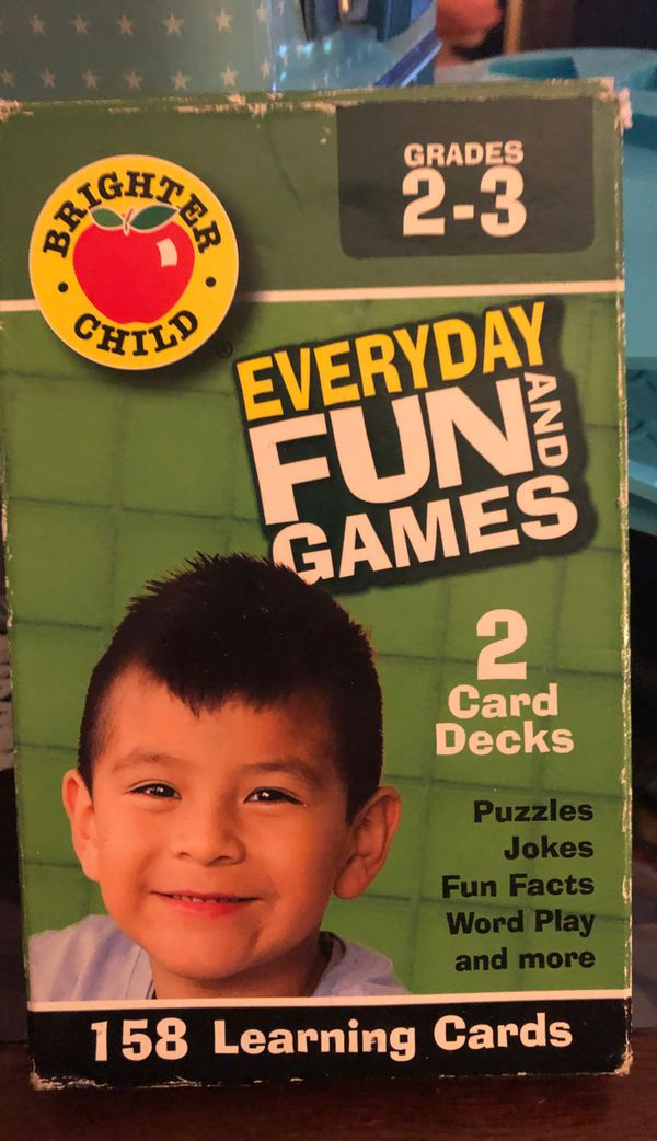 Everyday Fun and Games Grades 2 -3. CC1