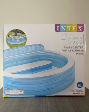 Intex large Family Bench blow up Pool for Sale in Charlotte, NC