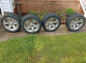 18' rims and tires for Sale in Chesapeake, VA