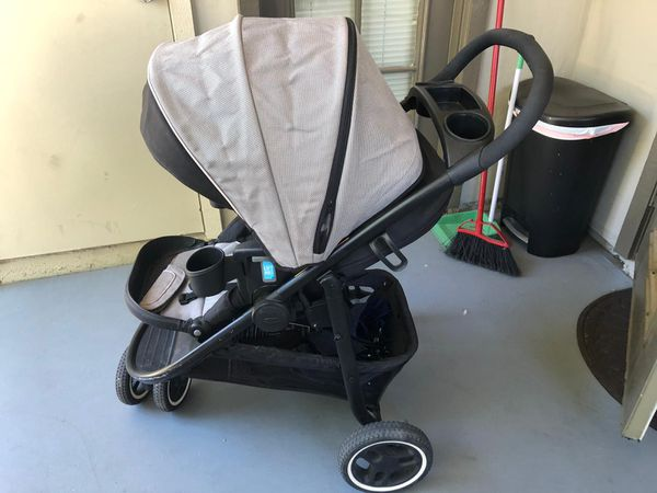 Stroller car seat Graco travel system Lightweight one click