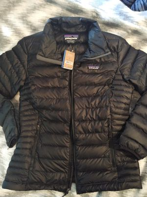 Patagonia woman's Virgin Feather Down Jacket for Sale in Fairfield, CA
