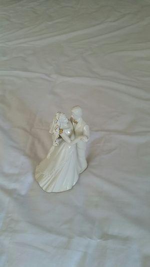 Wedding Bells Figurine, dancing bride and groom for Sale in Dulles, VA