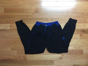 Adidas Basketball Foundation Windbreaker Jogger Track Pants L for Sale in Boston, MA