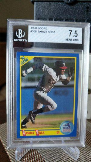 White Sox Sammy Sosa graded card for Sale in Long Beach, CA