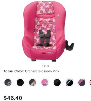 Pink car seat for Sale in Philadelphia, PA