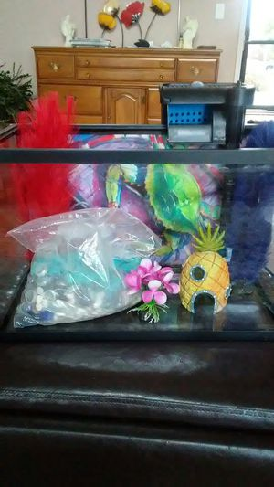 Top fin 5 gal fish tank for Sale in Keizer, OR