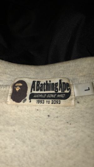 BAPE sweater (VERY RARE) for Sale in Carnegie, PA