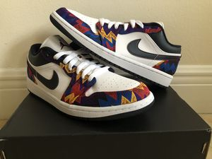 Brand New Air Jordan 1 Low 'Nothing But Net' Sizes 7.5-13 for Sale in Miami, FL