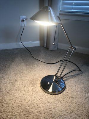 Silver Desk Lamp for Sale in Stockbridge, GA