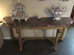 Granite Console, Sofa and Entryway Table for Sale in Las Vegas, NV