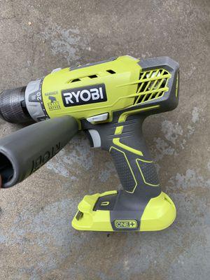 Ryobi 18v hammer drill for Sale in Fresno, CA