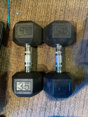 2 pairs of dumbbells for Sale in Bell, CA