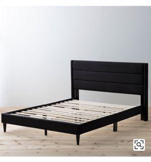 Queen bed frame- black for Sale in Denver, CO