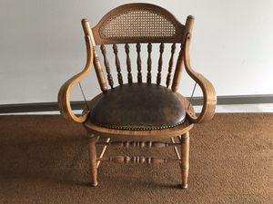 Solid oak chair for Sale in Lake Stevens, WA