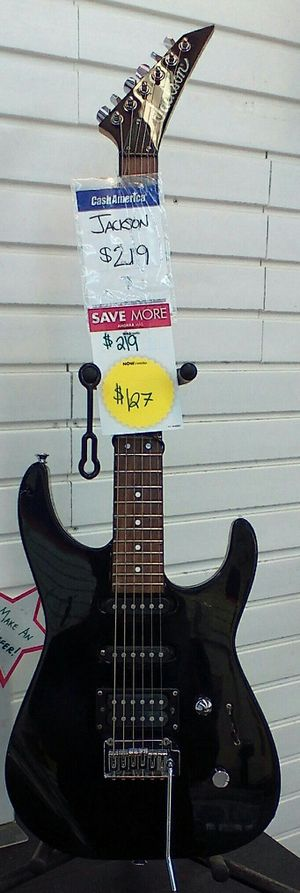 Jackson electric guitar for sale for Sale in Gastonia, NC