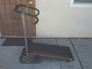 Elite Fitness manual treadmill with digital Monitor and heart rate $75 for Sale in San Diego, CA