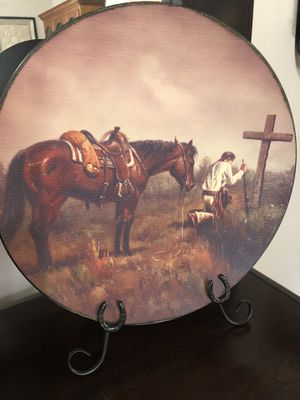 Praying Cowboy with stand for Sale in Bedford, TX
