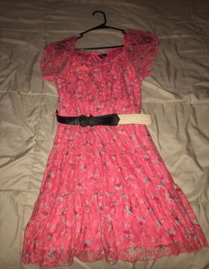 Pink flower dress for Sale in Perris, CA