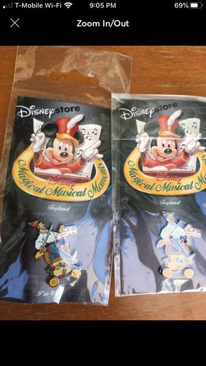 Disney Store Magical Musical Moments Pin TOYLAND #99 for Sale in Colton, CA