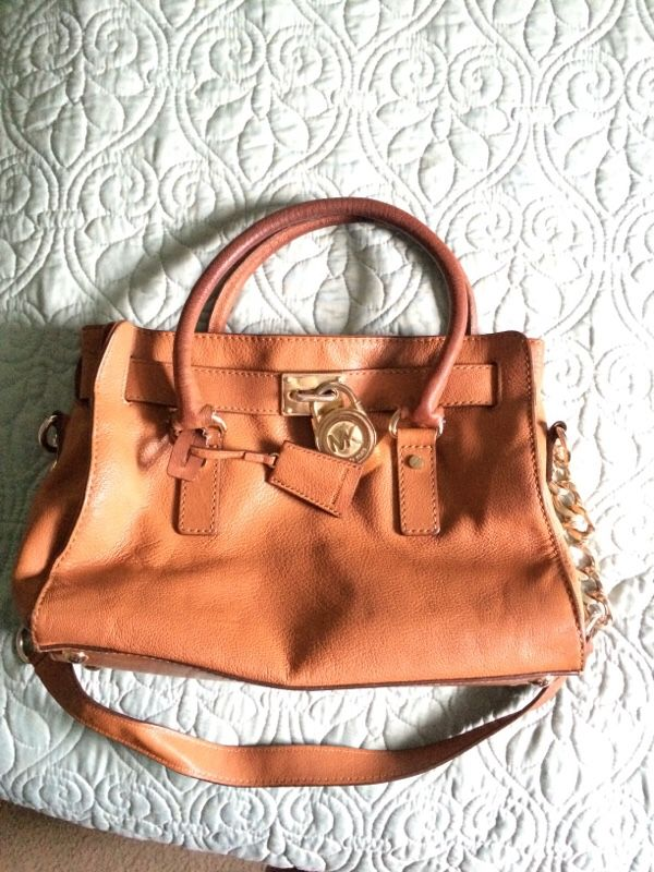 Cognac Brown MK Handbag 👜