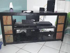 tv table for 60 inch tv for Sale in North Miami Beach, FL