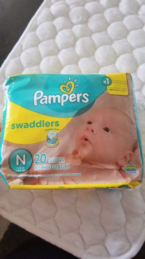 Newborn diapers $5 a pack for Sale in Medford, MA