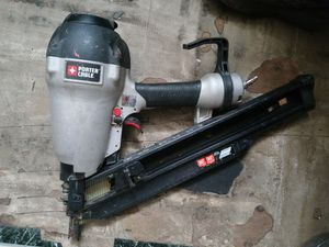 21-degree 3-1/2in Full round porter cable framing nailer for Sale in Sloan, NY