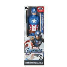 Marvel Titan Hero Series Captain America 12-inch Action Figure for Sale in San Bernardino,  CA