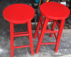 2 WOODEN BAR STOOLS for Sale in Cape Coral, FL
