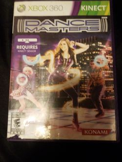 Dance Master For Xbox 360 for Sale in Tacoma,  WA