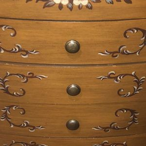 Jewlery Armoire Organizer. Lingerie Dresser. Jewelry Cupboard Wood Brown for Sale in Battle Ground, WA