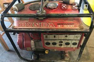 HONDA EB 4000 GENERATOR for Sale in Eugene, OR