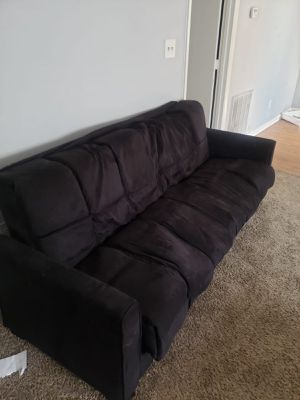 Black futon for Sale in Raleigh, NC