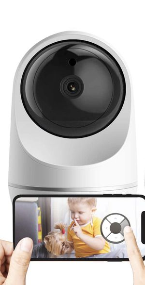1080P Dome 360 Wireless Baby Monitor Safety Auto Tracking Home Security Surveillance IP Cloud Cam Night Vision Camera for Sale in Norco, CA