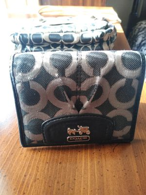 Coach small bag and wallet. for Sale in Denver, CO