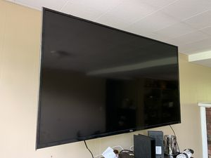 55 inch tv w mount speakers and fire tv for Sale in Birmingham, AL