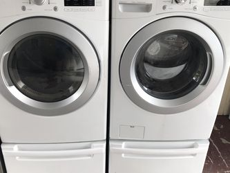 Washer And Dryer In Excellent Condition With Warranty for Sale in Hollywood,  FL