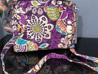 Vera Bradley plum Crazy Messenger bag for Sale in Indian Head,  MD