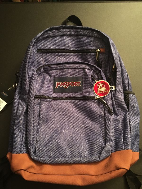 Jansport Laptop Backpack (Cool Heathered)