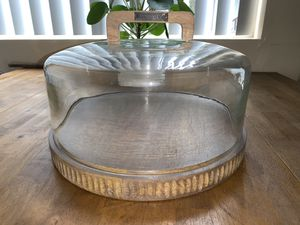 Magnolia Wood Platter/Cake Stand BRAND NEW for Sale in San Diego, CA
