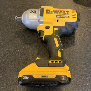 20-Volt MAX XR Lithium-Ion Cordless Brushless High Torque 3/4 in. Impact Wrench for Sale in Columbus, OH