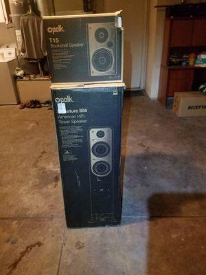 Polk audio signature s55 tower speaker for Sale in Ceres, CA