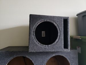Subwoofer box 60 each obo for Sale in Eglin Air Force Base, FL