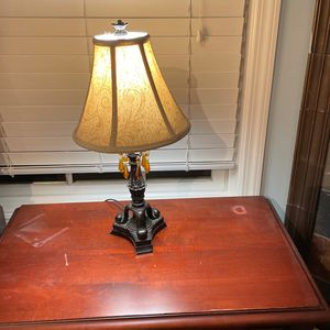 Bedside Lamps- Pair/2 for Sale in Highland Park, NJ