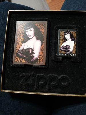 Bettie page zippo for Sale in Long Beach, CA