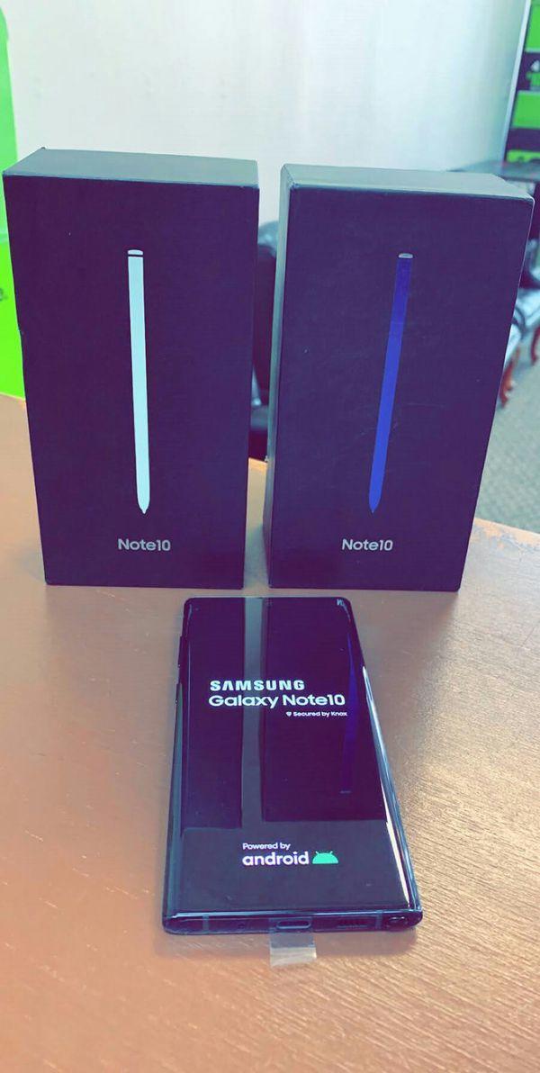 Samsung Galaxy Note 10 - 256Gb -Brand New In Box / Like New - Factory Unlocked Starting @