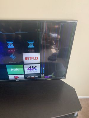 55 inch 4K tcl tv needs light repair for Sale in Columbus, OH