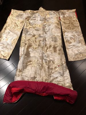 Japanese vintage wedding kimono uchikake for Sale in Chicago, IL